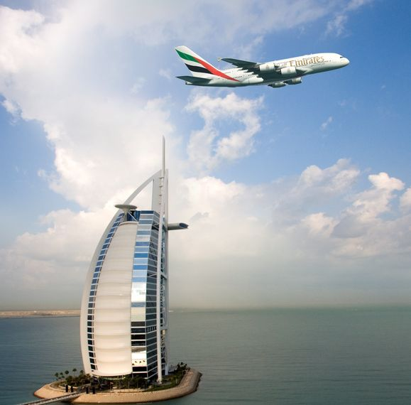 the EK A380 Burj Al Arab_1